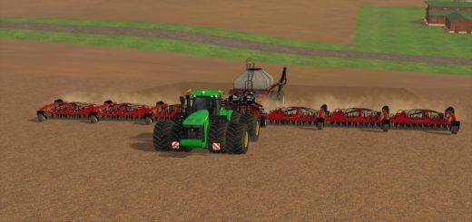 Мод сеялка CaseIH Cart Air Seeder 32m v 1.0.0.0 Farming Simulator 17