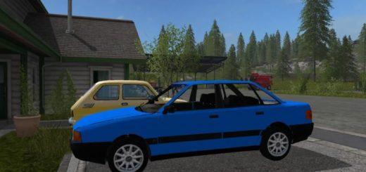 Мод авто Audi 80 B3 v1.0 Farming Simulator 17