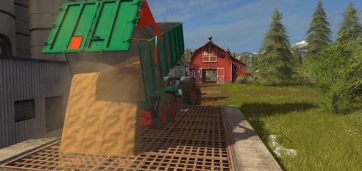 Мод прицеп Aguas Tenias Tandem 18T v 1.0 Farming Simulator 17