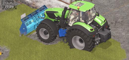 Мод Aldo Annovi silage shield v 1.0 used effect Farming Simulator 2017
