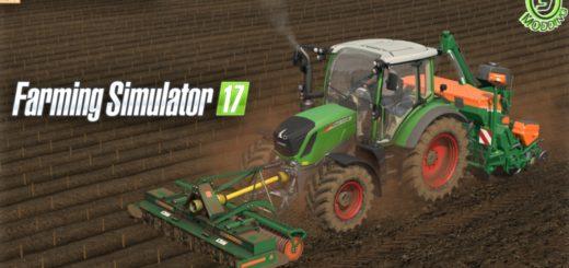 Мод культиватор Amazone KE-303 Farming Simulator 17