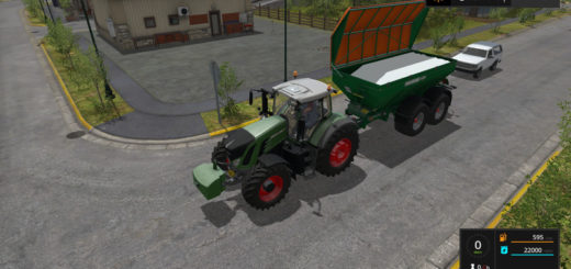 Мод Amazone TC 22000 ultra v1.1.0.0 Farming Simulator 17