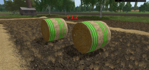 Текстуры Bales of straw texture v 1.2 Farming Simulator 2017