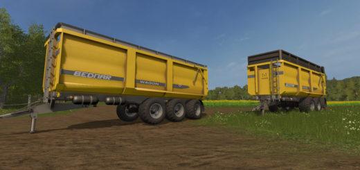 Мод прицеп Bednar wagon V1 Farming Simulator 17