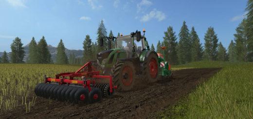 Мод культиватор Brix Twinn V 1.0.0.0 Farming Simulator 17