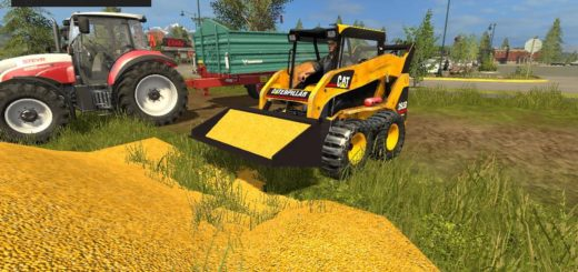 Мод погрузчик Caterpillar 262B v1.0 Farming Simulator 17