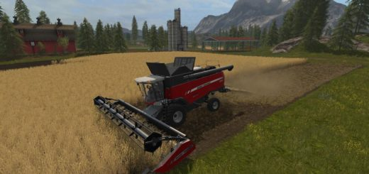 Мод скрипт Chopped Straw v 1.0.0.4 Farming Simulator 2017