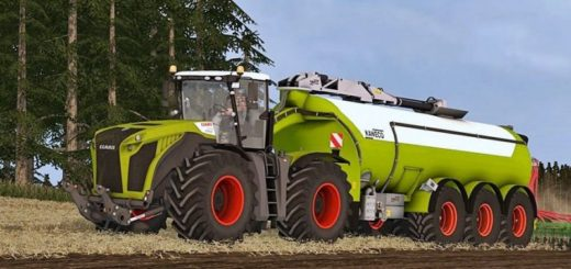 Мод CLAAS XERION 5000 PACK Farming Simulator 17