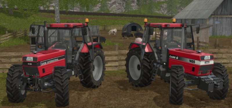 Мод трактор Case IH 1455 XL FH v 1.0 Farming Simulator 17