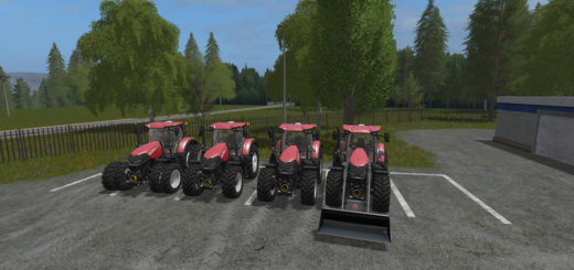 Мод Case Optum CVX Turbo v 1.0 Farming Simulator 2017