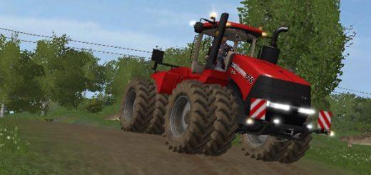 Мод трактор CaseIH Steiger 370 Duals Farming Simulator 2017