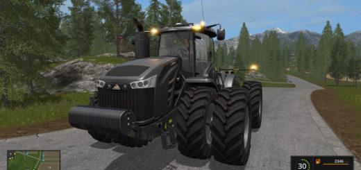 Мод трактор Cat Challenger X v 2.2.2.2 Farming Simulator 17