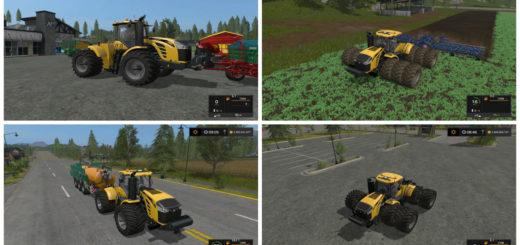 Мод трактор Challenger MT900E Terra v 1.2 Farming Simulator 17