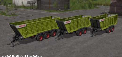 Мод Сlaas Cargos 700 Pack V 1.0 Farming Simulator 2017