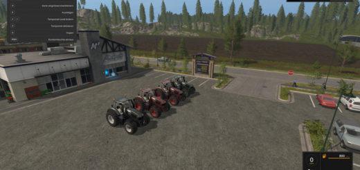 Мод трактор Deutz Fahr Series 9 v 1.2 Farming Simulator 2017