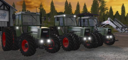 Мод трактор Fendt Farmer 310 312 LSA Turbomatik v 1.0.0.3 Farming Simulator 2017