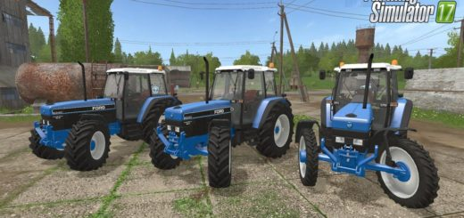 Мод трактор FORD 8340 V1.1 Farming Simulator 2017