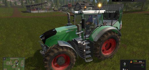 Мод трактор Fendt 1000 Vario v 1.0 Farming Simulator 17