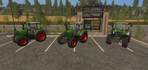 Мод трактор Fendt 300 Vario v 1.0.0.0 Farming Simulator 17