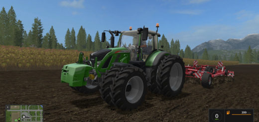 Мод Fendt 700 v 1.3 Fixed Farming Simulator 2017