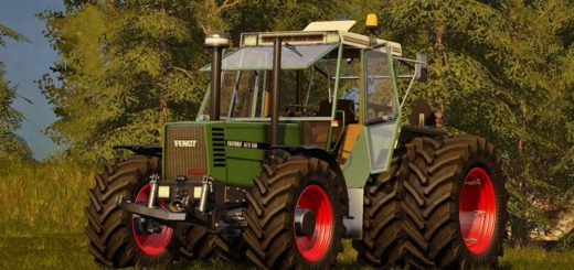 Мод трактор Fendt Favorit 615 LSA V 1.2 Farming Simulator 2017