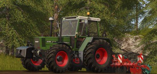 Мод трактор Fendt Favorit 615 LSA v 1.0 Farming Simulator 17