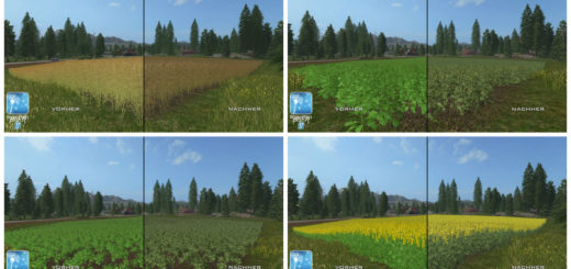 Текстуры Рапса Forgotten Plants – Rape v 1.0 Farming Simulator 17