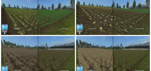 Текстуры Картошки/Свеклы Forgotten Plants Sugerbeet/Potatoes V 1.0 Farming Simulator 2017