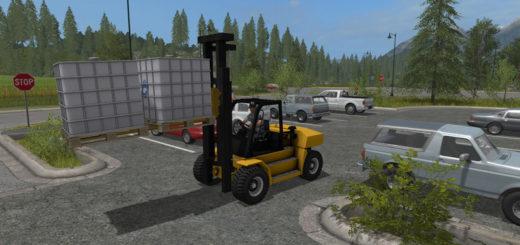 Мод Komatsu EX 50 and Forks v 1.1 beta Farming Simulator 2017