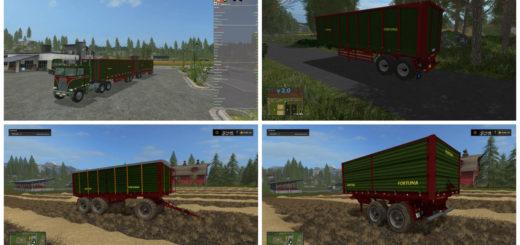 Мод Fortuna Pack v 1.0.6 Farming Simulator 17