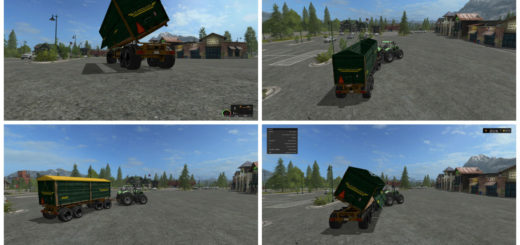 Мод прицеп Fuhrmann 4A56 v 1.0 Farming Simulator 17