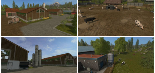 Мод карта Giga Farm V2.0 Farming Simulator 2017