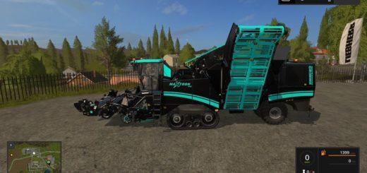 Мод комбайн GrimmeMaxtron 620 Edit V 1.2 Farming Simulator 17