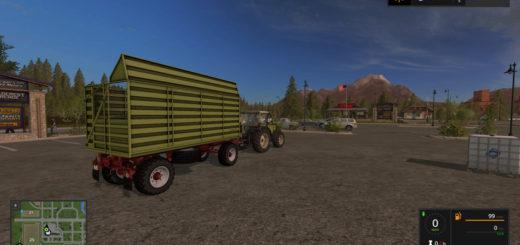 Мод прицеп HW80 Conow V 1.0.8.0 Farming Simulator 17