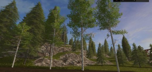 Мод Harvester birch v 1.0 Farming Simulator 17