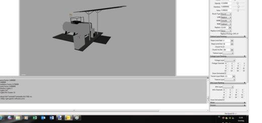 Мод Hof gas station v 1.0 Farming Simulator 17