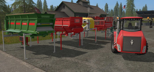 Мод ПАК Holmer Pack V1.0.0.0 Farming Simulator 2017