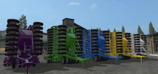 Мод сеялка Horsch Pronto 9 DC V 1.0 Farming Simulator 17