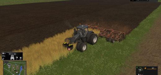 Мод культиватор Horsch Tiger 10 LT Plough & Cultivator v 1.1 Farming Simulator 17