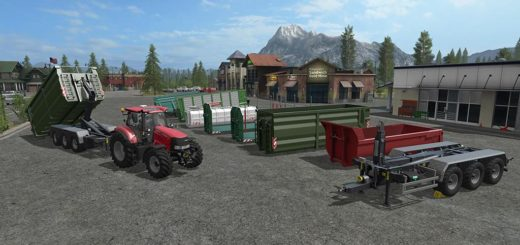 Мод ПАК ITRunner Pack Version 1.0.0.1 Farming Simulator 2017