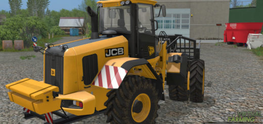 Мод противовес JCB 435S back weight v 1.0 Farming Simulator 2017