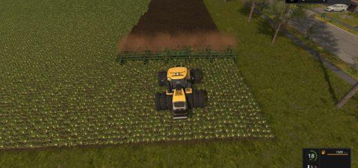 Мод культиватор John Deere 2410 5 section v 1.0 Farming Simulator 2017