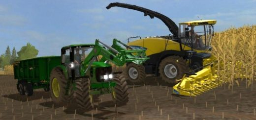 Мод трактор JOHN DEERE 7030 v1.0 Farming Simulator 2017