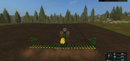 Мод сеялка John Deere 7200 24 Row Planter v 1.0 Farming Simulator 2017