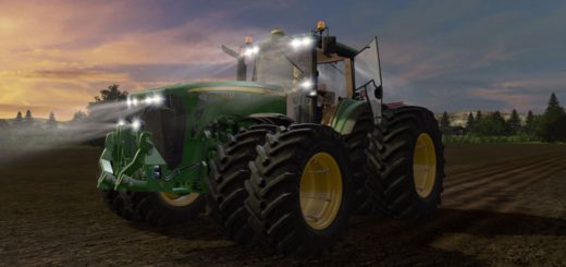 Мод трактор JOHN DEERE 8030 V 2.0 Farming Simulator 2017