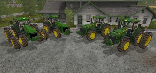 Мод трактора John Deere 8520/8530 v 1.0 Farming Simulator 2017