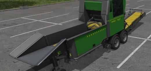 Мод щеподробилка John Deere Super Forest 1200 v 1.0 Farming Simulator 2017