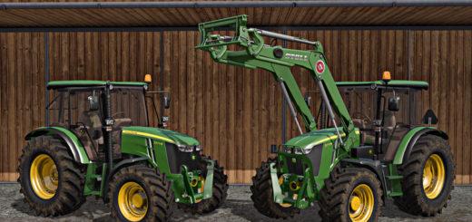 Мод трактор John Deere 5M Series V 1.0 Farming Simulator 2017