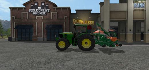 Мод трактора John Deere 7430/7530 Premium by MB3D v 1.0 Farming Simulator 2017
