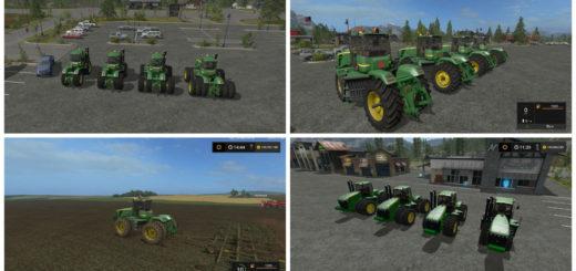 Мод трактор John Deere 9630 v 1.0 Farming Simulator 17